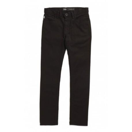 Pantalon Jeans Junior VANS V76 Skinny Overdye Black