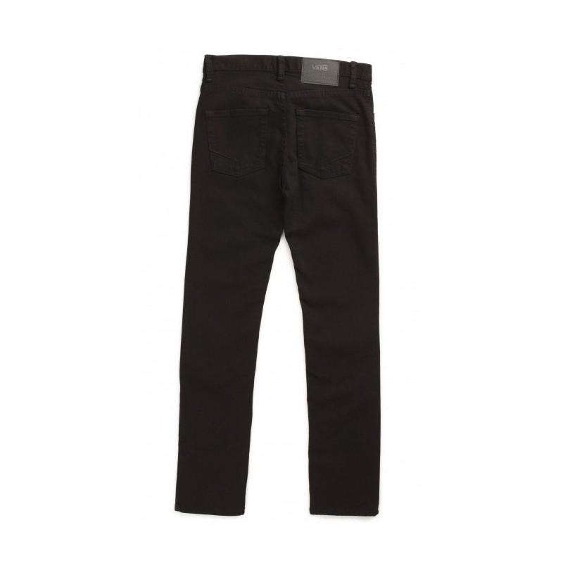 19338eb17d Junior V76 VANS Trousers Jeans Skinny Black Overdye - Breizh Rider