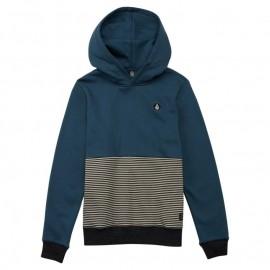 Junior Sweatshirt Volcom Threezy Navy Green