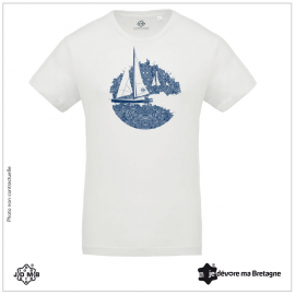 Organic JDMB White Sailor Tee Shirt