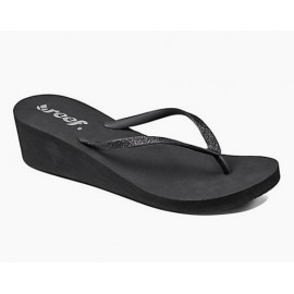Reef Krystal Star Sandal Black