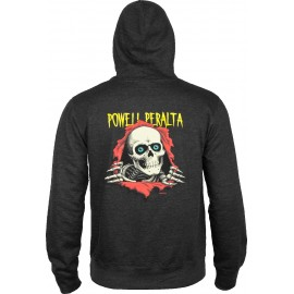 Powell Peralta Sweat Ripper Hood Charcoal