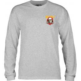 Tee Shirt Manche longue Powell Peralta Ripper Gris