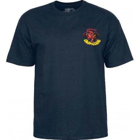 Tee Shirt Powell Peralta Cab Dragon II Navy