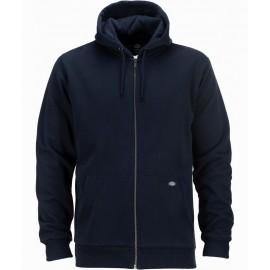 Dickies Kingsley Dark Navy Zip Sweatshirt