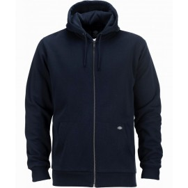Dickies Kingsley Dark Navy Zip Sweatshirt