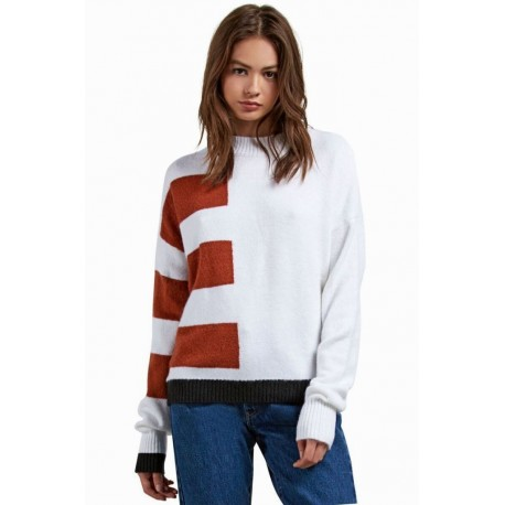 Cold Band White Sweater