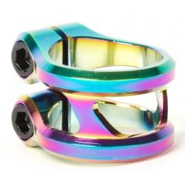 Collier de Serrage Ethic 2 Vis Sylphe Rainbow 31.8mm