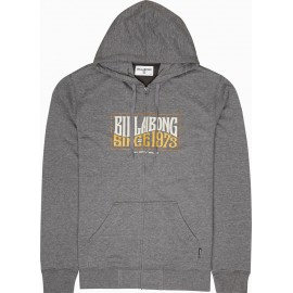 Sweat Zippé Billabong Wave Daze Dark Grey Heather