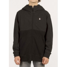 Sweat Junior VOLCOM Single Stone Division Black