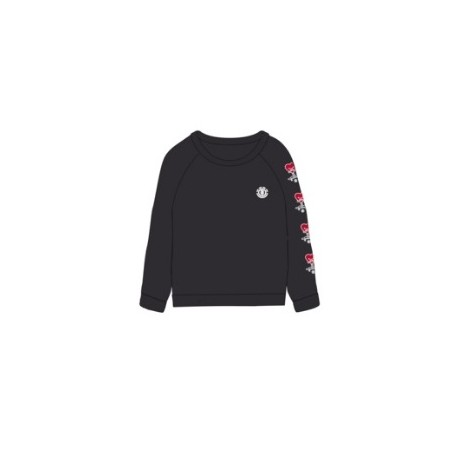 ELEMENT Love Crew Flint Black Women's Sweatshirt
