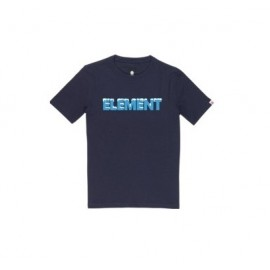 Tee Shirt Junior ELEMENT Snow Eclipse Navy