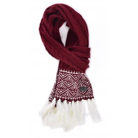 Banana Moon Peter Auckland Women's Scarf Bordeaux
