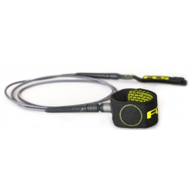 Leash FCS Freedom 6' Charcoal Green