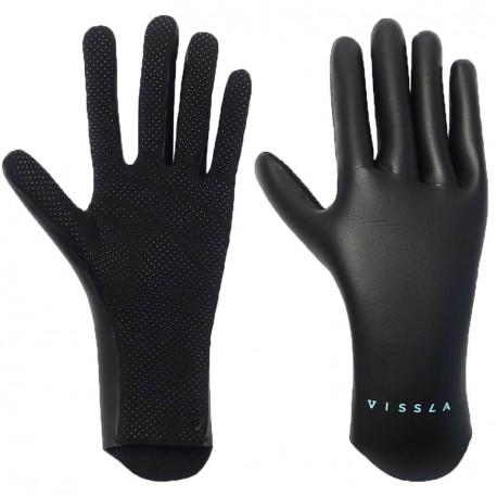 Gants Vissla High Seas 1.5mm Black