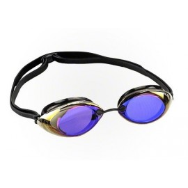 Lunettes De Natation TYR Tracer Racing Mirrored Blue Black Black