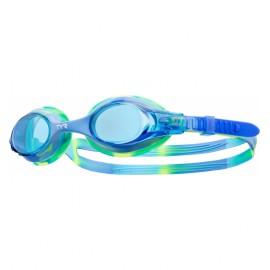 Lunettes De Natation Kids TYR Swimple Tie Dye Blue Green