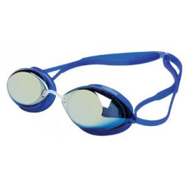 TYR Tracer Racing Mirrored Gold Blue Blue Swimming Glasses