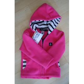 Child Fleece Jacket PAPYLOU Fuchsia Roll