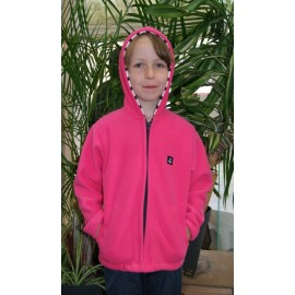 Junior Fleece Jacket PAPYLOU Fushia Roll