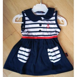 Baby dress PAPYLOU Carhaix Marine