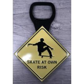 Décapsuleur Magnet Skate At Own Risk