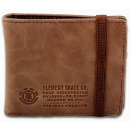 ELEMENT Endure L.II Brown Wallet