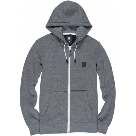 Sweat Homme ELEMENT Heavy Zip Gris Anthracite Chiné