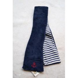Fleece baby scarf Papylou Aber anchor