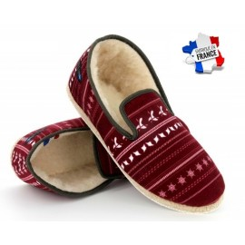 7b8ba318152da3 Charentaise All In Ocean Print Bordeaux