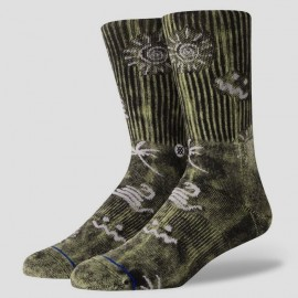 STANCE Wave Snake Black Socks