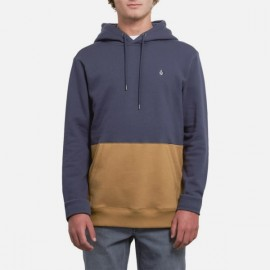 VOLCOM Men's Sweatshirt Single Stone Division Midnight Blue