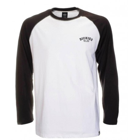 7cafc2d12185 Dickies Baseball Men s Long Sleeve Tee Black - Breizh Rider