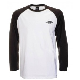 Dickies Baseball Men's Long Sleeve Tee Black