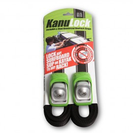 Kanulock Lockable Tiedown Set 2.50m