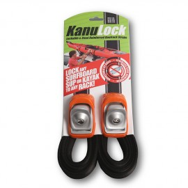 Kanulock Lockable Tiedown Set 3.30m