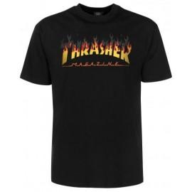 Tee Shirt Thrasher BBQ Black