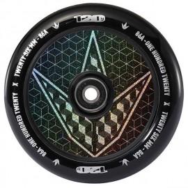 Blunt Wheel Hollow Core Geo Logo Hologram 120mm