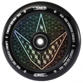 Blunt Wheel Hollow Core Geo Logo Hologram 120mm