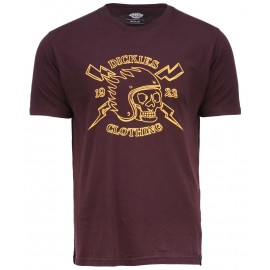 Dickies Poplar Ridge Maroon Tee Shirt
