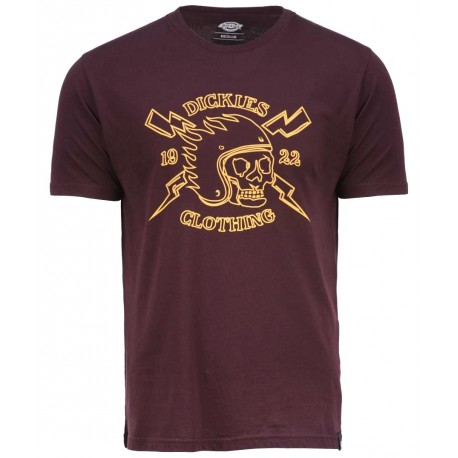 Tee Shirt Dickies Poplar Ridge Maroon