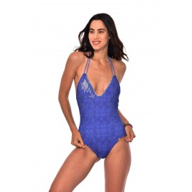 Swimsuit 1 piece Banana Moon Bekini Flashbac Indigo