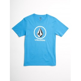 Tee Shirt Junior VOLCOM Crisp Stone Cyan Out