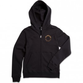 VOLCOM Supply Stone Black Zip Sweatshirt
