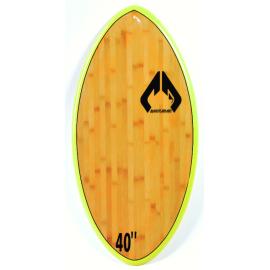 "Skimboard Massive Apparel 40"" EPX Wood Jaune"