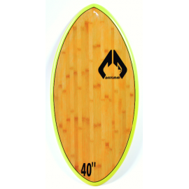 "Skimboard Massive Apparel 40"" EPX Wood Yellow"