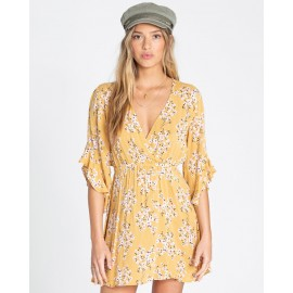 BILLABONG Love Light Golden Hour Dress