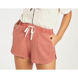 Short Femme BILLABONG Road Trippin Red Clay
