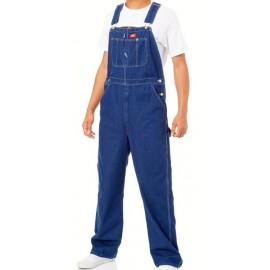 Salopette Dickies Bib Overall Rinsed Indigo Blue