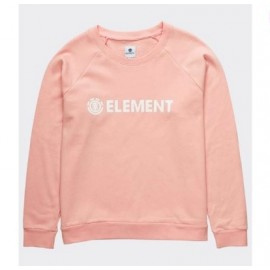 Sweat Femme ELEMENT Logic Crew Peach